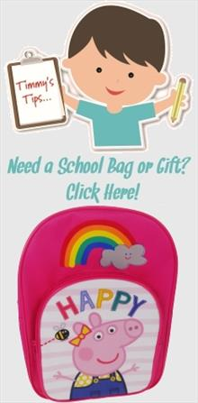 Peppa Pig School Bags and Gifts