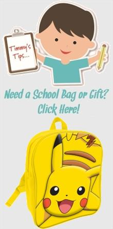 Pokemon School Bags and Gifts