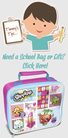 Shopkins School Bags and Gifts