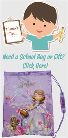 Sofia the First School Bags and Gifts