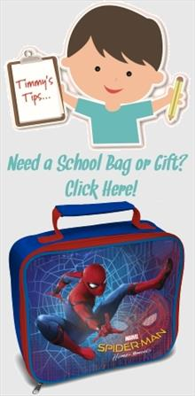 Spiderman School Bags and Gifts
