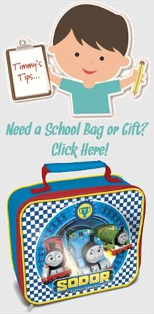Thomas the Tank Engine School Bags and Gifts
