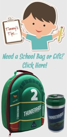 Thunderbirds School Bags and Gifts
