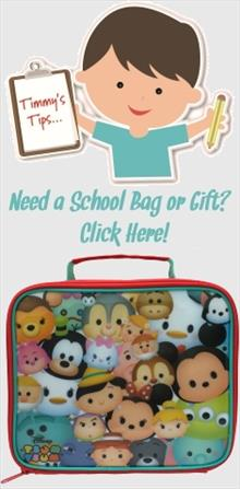 Disney Tsum Tsum School Bags and Gifts