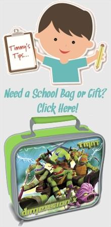 Teenage Mutant Ninja Turtles School Bags and Gifts