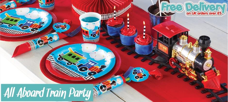 Children Party Supplies | Decorations | Balloons | Packs | Themes