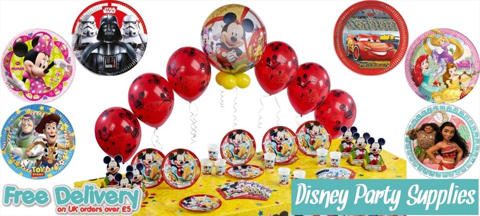 Disney Party Supplies