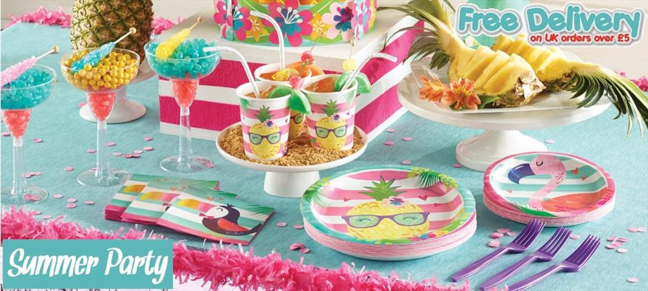 Summer & Beach Party Supplies