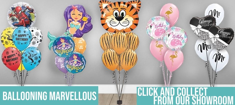 Inflated Balloons and Balloon Bouquets in Coalville, Leicester